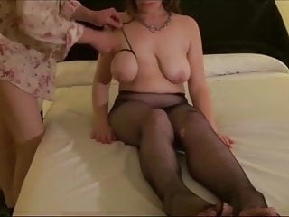 Mature with orbs roped in a bondage & discipline gig. Part 1