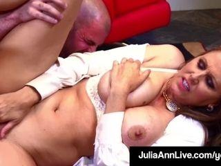 Steaming lovemaking thirsty cougar Julia Ann pummels Her jizz Spewing schoolgirl!