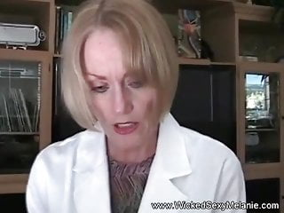 Granny taint Examines load of shit