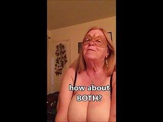 Grannie WANTS AN EARFUL of jism