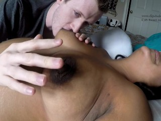 Voluptuous Breastfeeding hubby while preggie. HD