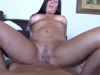 Wild suntanned cougar unbelievable point of view fuck-a-thon