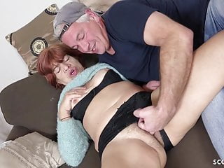 STEP sonny lure gross wooly granny TO penetrate AND drink jizm