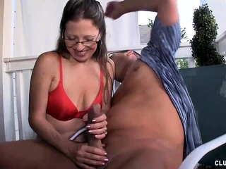 Grown up Milf Offers subhuchallenge Handjob close by will not hear of challenge