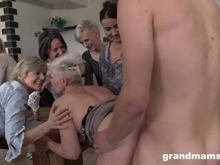Largest grandmother pummel jamboree part 2