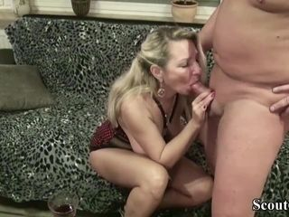 Neighbour butter up German MILF approximately fianc� with regale Tasting