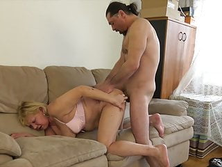 60+ Granny fucks adjacent to younger loverboy