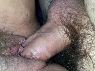 long cum filled pussy closeup tube