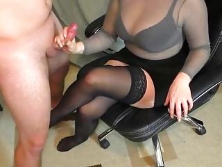 Ehefrau Handjob Amateur Große Titten ❤️ Ehefrau