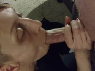 Homemade blowjob snappish haired gaunt get hitched