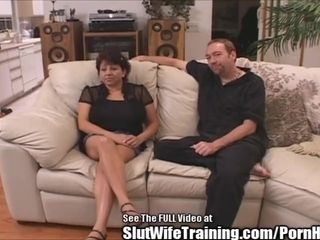 Meaty fun bags Latina wifey smashed by sloppy D