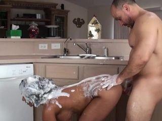Deepthroating, nailing and Hair nailing (Hair Washing Fetish)
