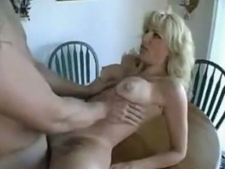 Blonde buxom MILF with sweet booty enjoyed proper missionary fuck