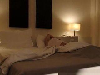 Old man eats fucks wife's in hotel