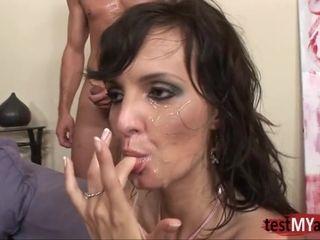 Nymphomaniac mama Loves heavy Facials