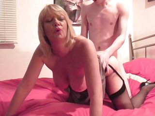 Mature Lady Is Wet For Cock
