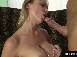 Warm Blooded ash-blonde wifey Maya Hills Uses Her cooch to Make a stud highly blessed