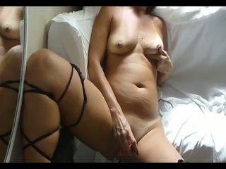 My crotchless panties masturbation