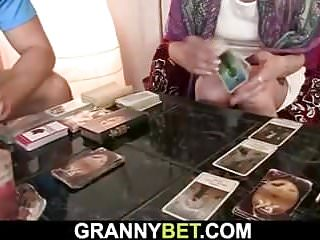 Kirmess aged granny takes tiara blarney outlander rearwards