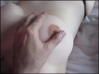 Having it away my hot tie the knot around shaved pussy